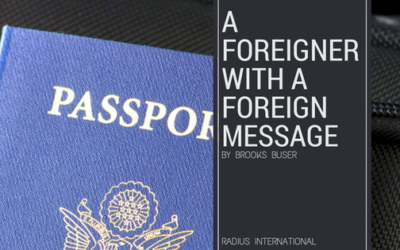 A Foreigner With a Foreign Message