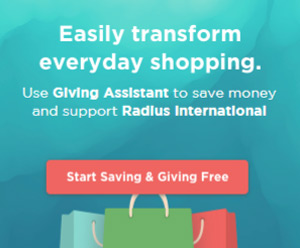 Radius International Giving Assistant